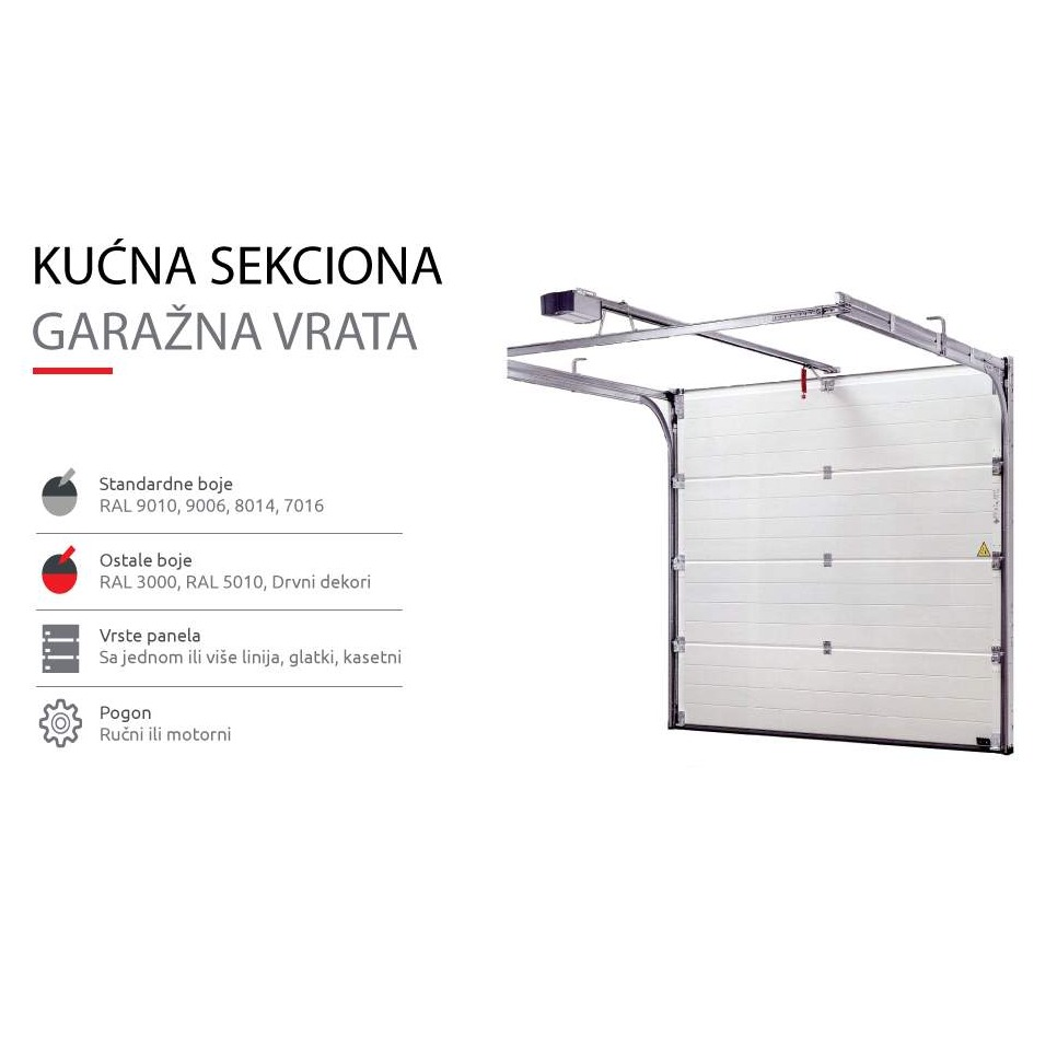 Sectional garage door sections for sale from reputable brands 11.11.2019