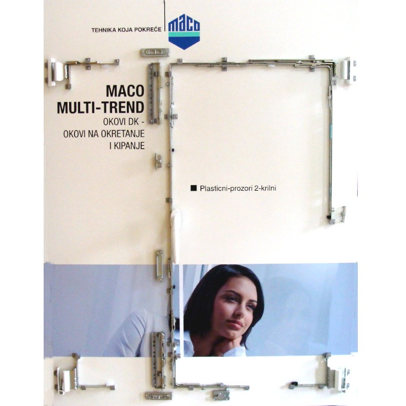 MACO Multi Matic - the widest platform for windows fittings